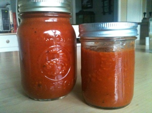 Bottled ketchup